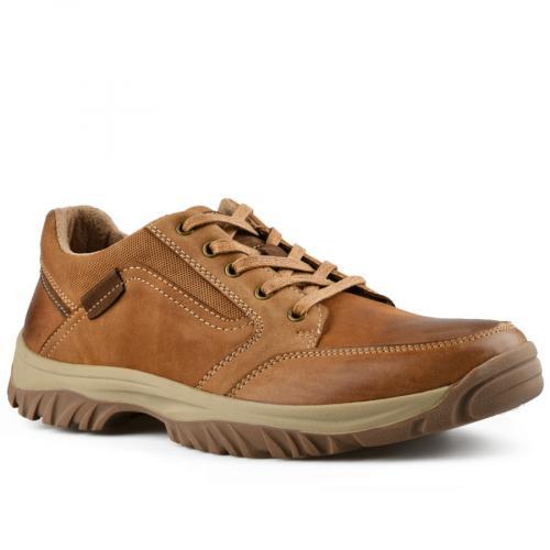 мъжки ежедневни обувки кафяви 0142109