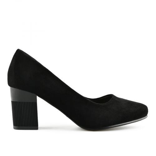 дамски елегантни обувки черни 0141035