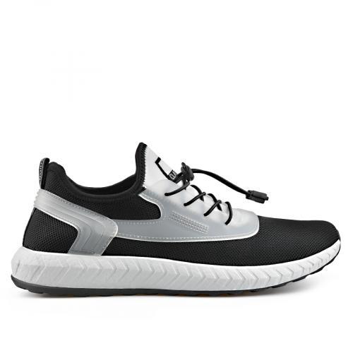 мъжки ежедневни обувки черни 0136912