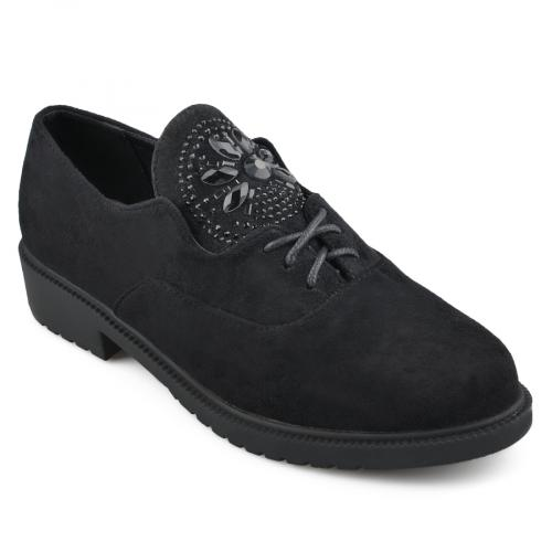 дамски ежедневни обувки черни 0139171