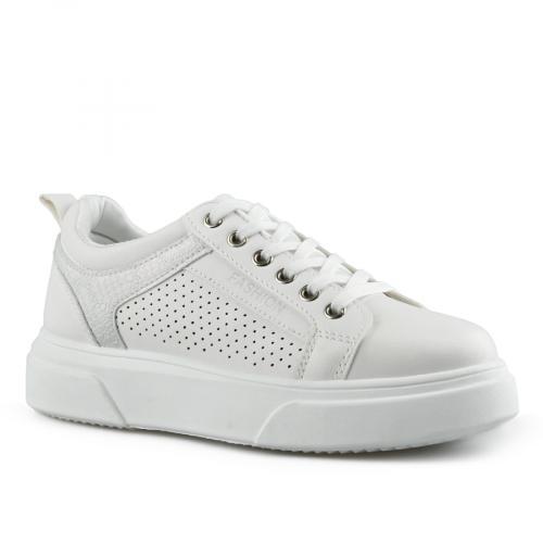 дамски ежедневни обувки бели 0142673