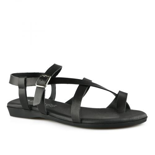 дамски ежедневни сандали черни 0141064