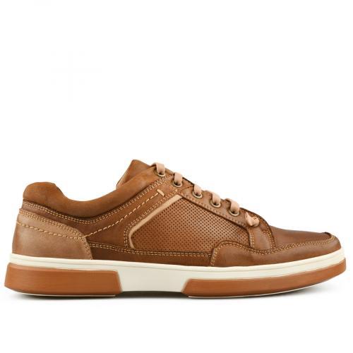 мъжки ежедневни обувки кафяви 0140733