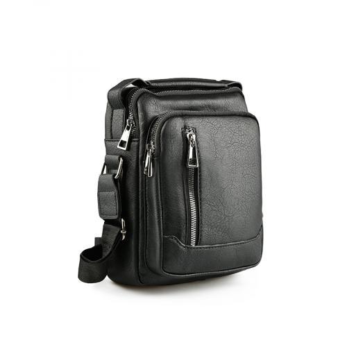 мъжка ежедневна чанта черна 0141593