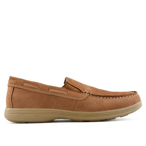 мъжки ежедневни обувки кафяви 0140752