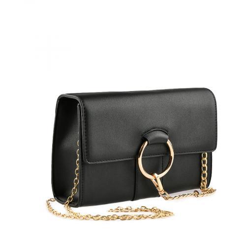 дамска ежедневна чанта черна  0139912