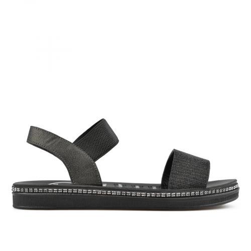 дамски ежедневни сандали черни 0137043