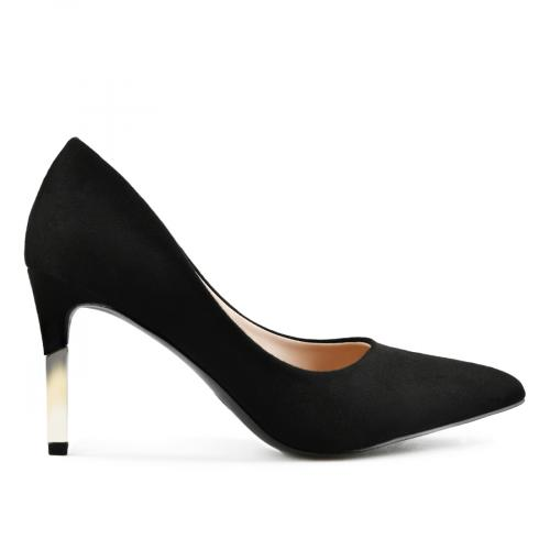 дамски елегантни обувки черни 0142880