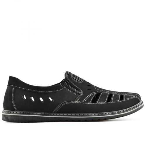 мъжки ежедневни обувки черни 0140281