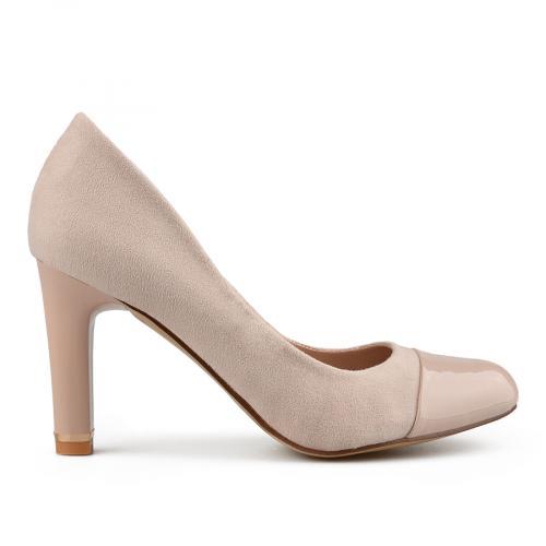 дамски елегантни обувки бежови 0138207