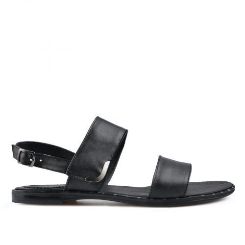 дамски ежедневни сандали черни 0138523