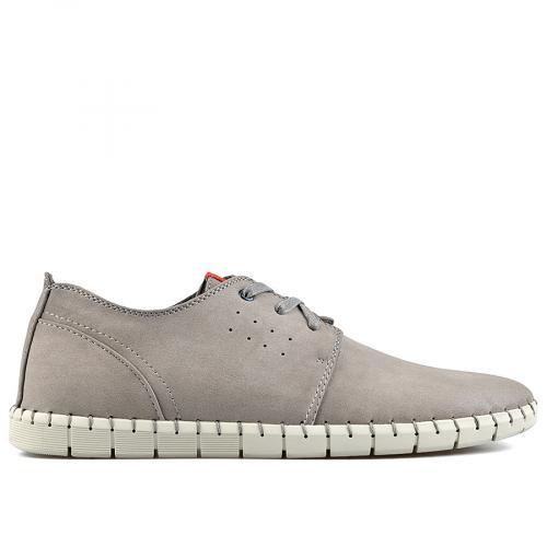 мъжки ежедневни обувки сив 0140554