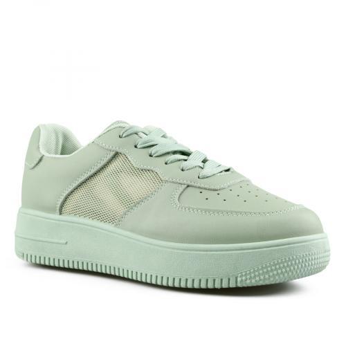 дамски ежедневни обувки зелени 0142658