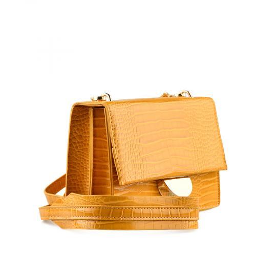 дамска ежедневна чанта тъмно жълта  0139911