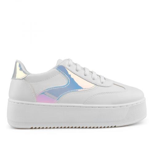 дамски ежедневни обувки бели 0136680