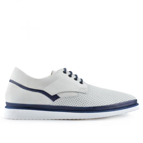 мъжки ежедневни обувки бели 0138374