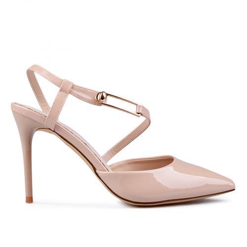 дамски елегантни сандали бежови 0133673