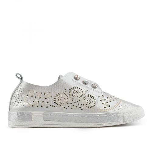 дамски ежедневни обувки бели 0136959