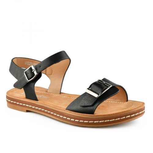дамски ежедневни сандали черни 0140838