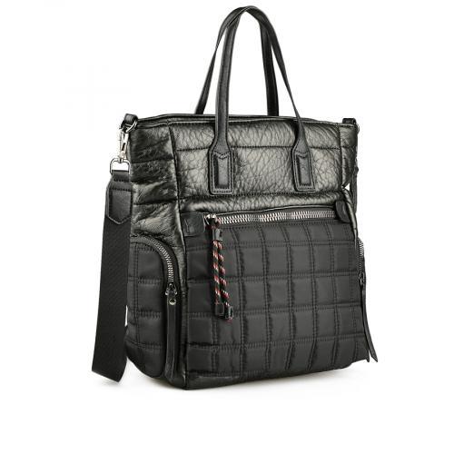 дамска ежедневна чанта черна 0145238