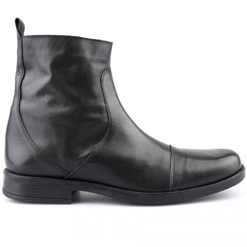 мъжки елегантни боти черни 0121426