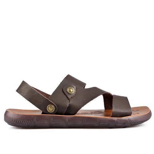 мъжки сандали кафяви 0137282
