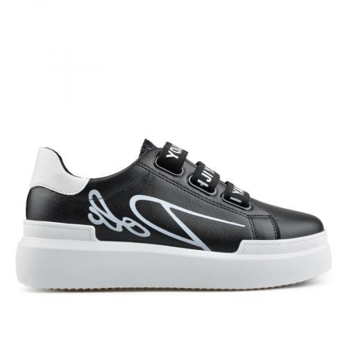 дамски ежедневни обувки черни 0136676
