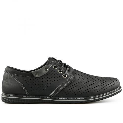 мъжки ежедневни обувки черни 0140276