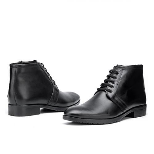 мъжки елегантни боти черни 0119487