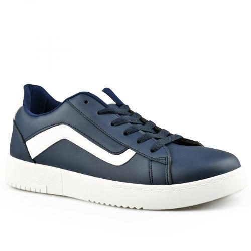 мъжки ежедневни обувки сини 0142043