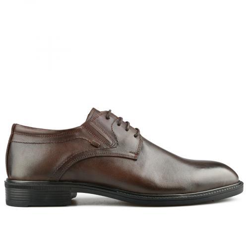 мъжки елегантни обувки кафяви 0142125