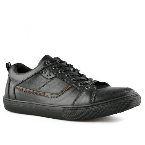мъжки ежедневни обувки черни 0140742