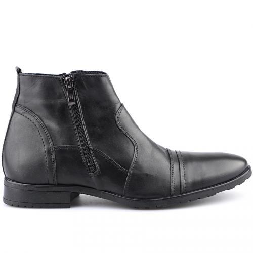 мъжки елегантни боти черни 0121422