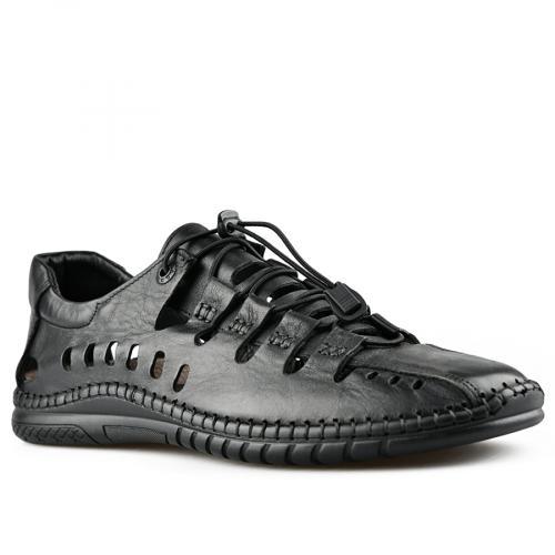 мъжки ежедневни сандали черни 0141206
