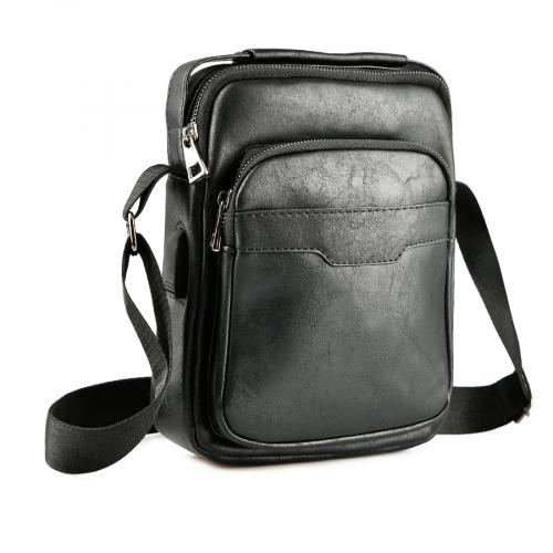 мъжка ежедневна чанта черна 0143876