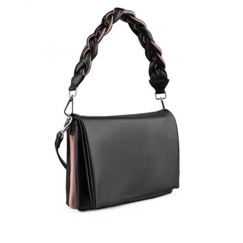 дамска ежедневна чанта черна 0137957