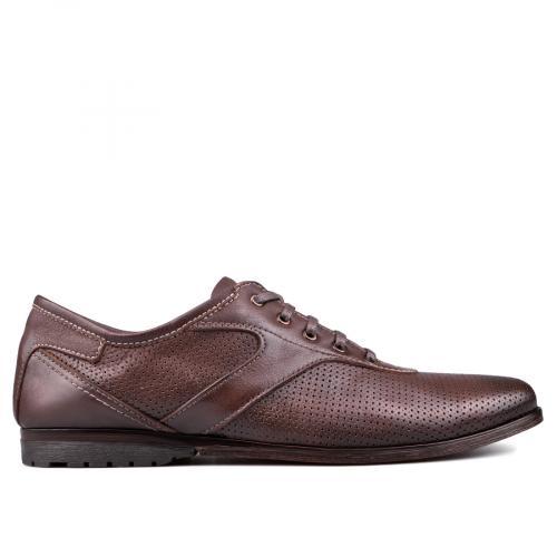 мъжки ежедневни обувки кафяви 0131002
