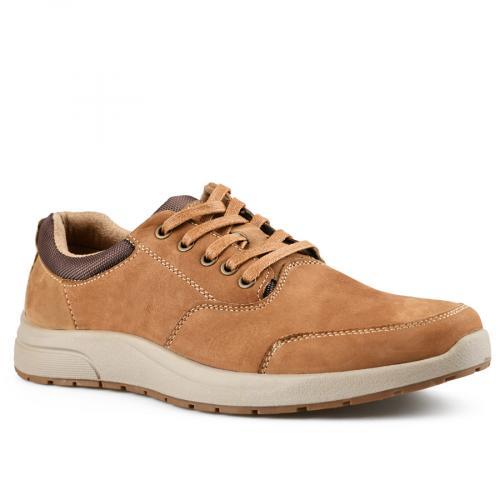 мъжки ежедневни обувки кафяви 0142114