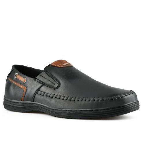 мъжки ежедневни обувки черни 0143325
