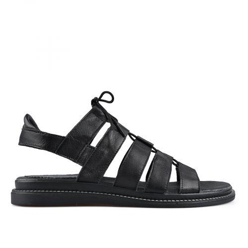 дамски ежедневни сандали черни 0138528