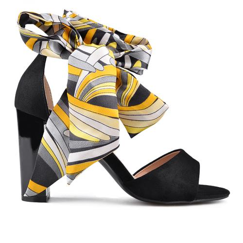 дамски елегантни сандали черни 0134631