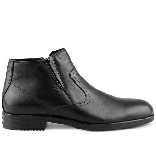 мъжки елегантни боти черни 0126053