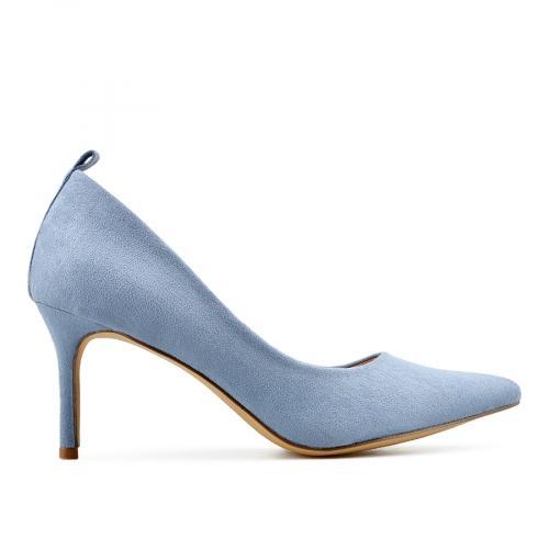 дамски елегантни обувки сини 0138162