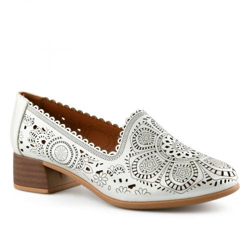 дамски ежедневни обувки бели 0143488