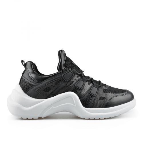 дамски ежедневни обувки черни 0136855