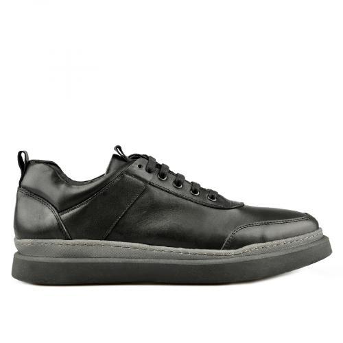 мъжки ежедневни обувки черни 0145315