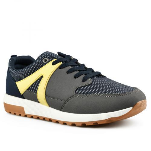 мъжки ежедневни обувки сини 0141988