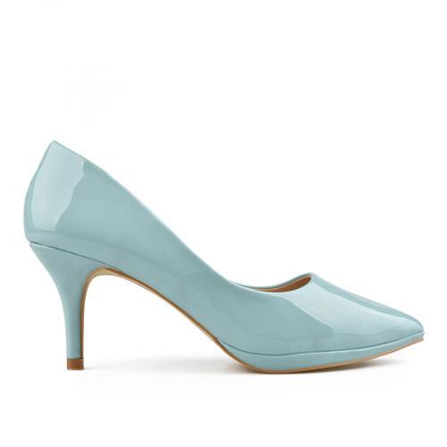 дамски елегантни обувки сини 0137703