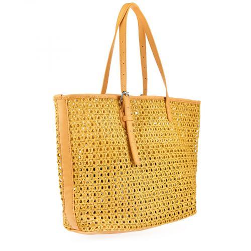 дамска ежедневна чанта жълта 0140192
