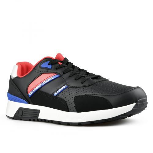мъжки ежедневни обувки черни 0142616
